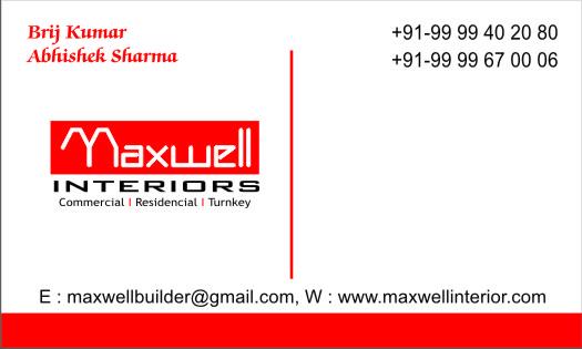Maxwell Estate Builders interior service providers
