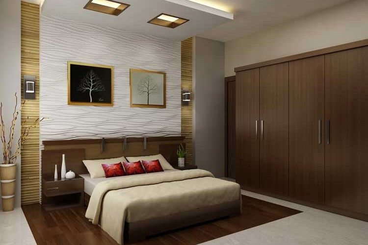 Bedroom interiors maxwell interior designers Bedroom designs india