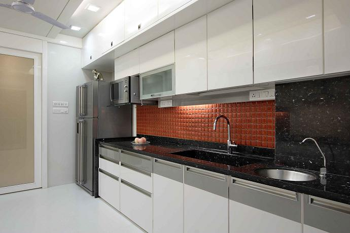 Kitchen interior design maxwell interior designers for Kitchen interior design india